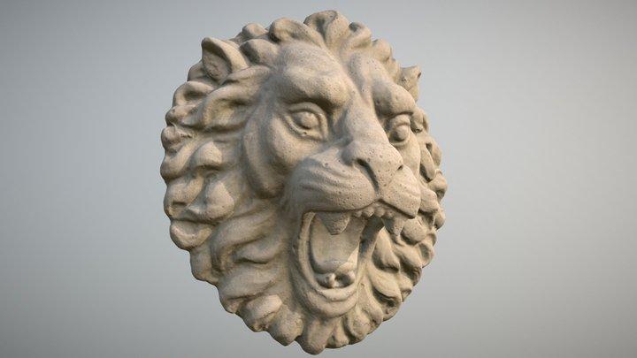 Lion Sculpture (Scan) 3D Model