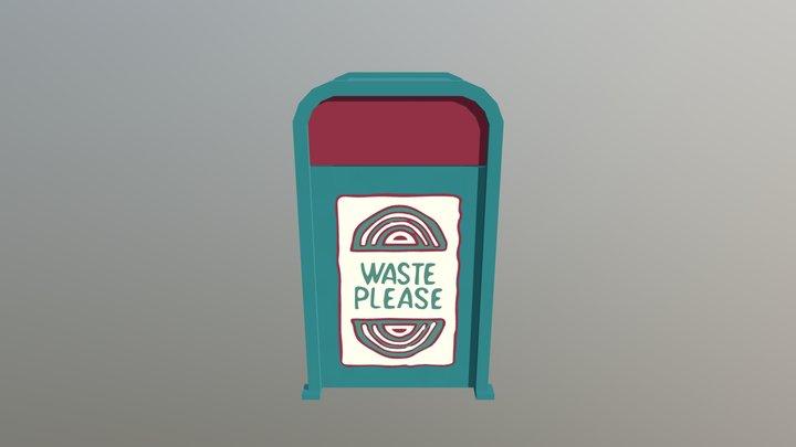 Adventureland Trash Can