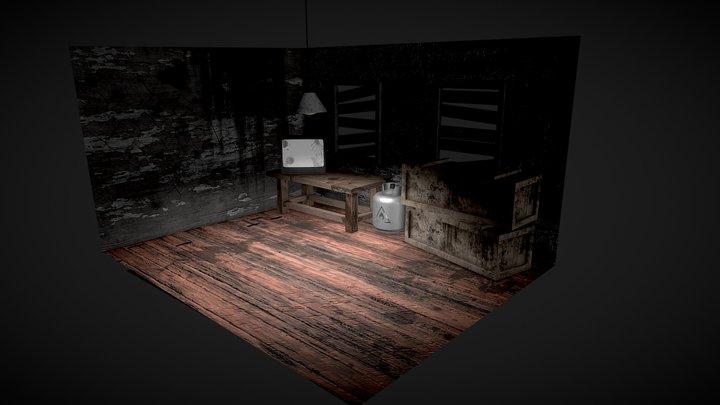 horror scene 3D Model