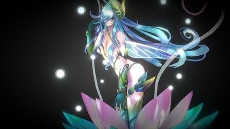 The Flower 3D Model