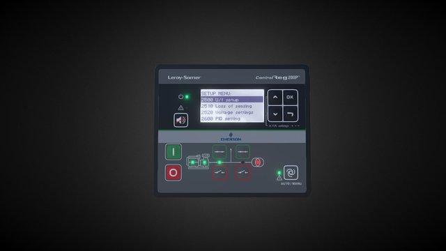 Control-Reg4 3D Model