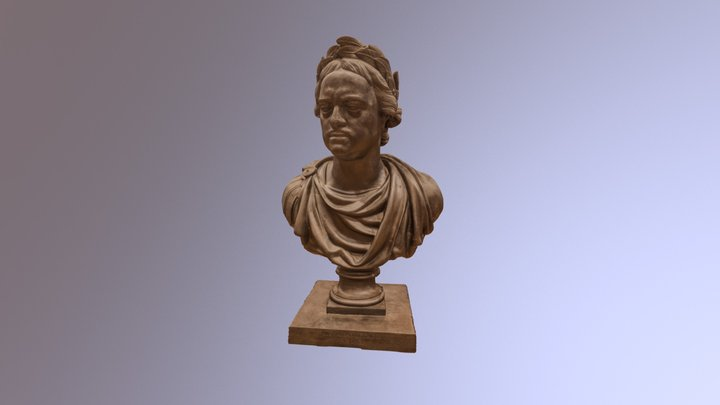 Peter the Great (bust) 3D Model