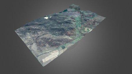 AU_QLD_Warwick_Picots - 1 M LiDAR 3D Model