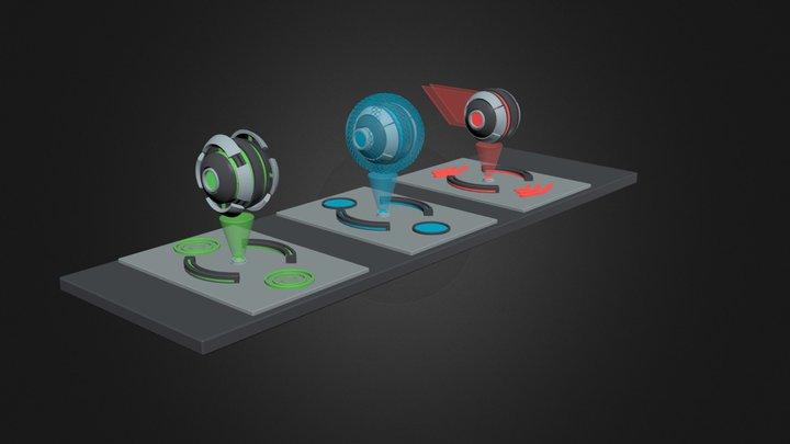 marblex project 3D Model