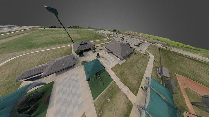 First Baptist Church Carrollton Athletic Complex 3D Model