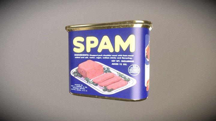 1950's Spam 3D Model
