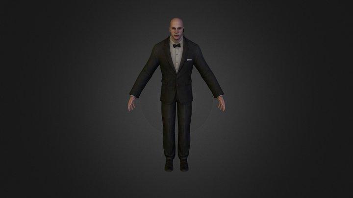 Doorman 3D Model