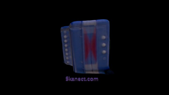 accordeon 3D Model
