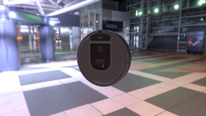 iRobot Roomba960 Robotic Vacuum Cleaner 3D Model