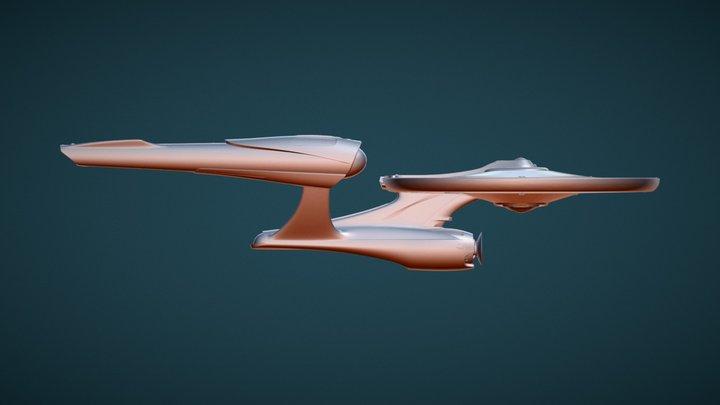 USS Enterprise NCC-1701 (2009) 3D Model