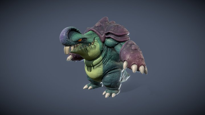 Creature HD 2020 3D Model