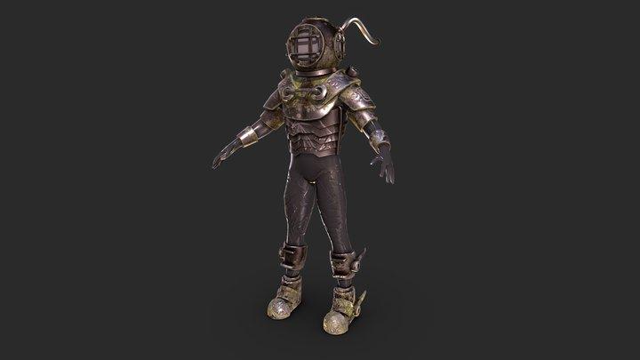 Diver guy... 3D Model