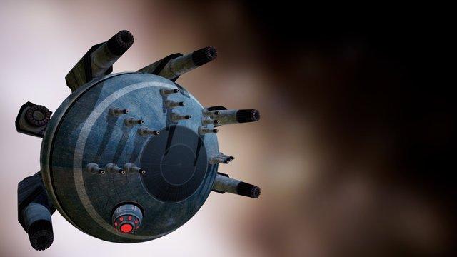 Cannon Orb 3D Model