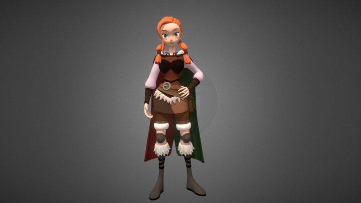 Kayla 3D Model