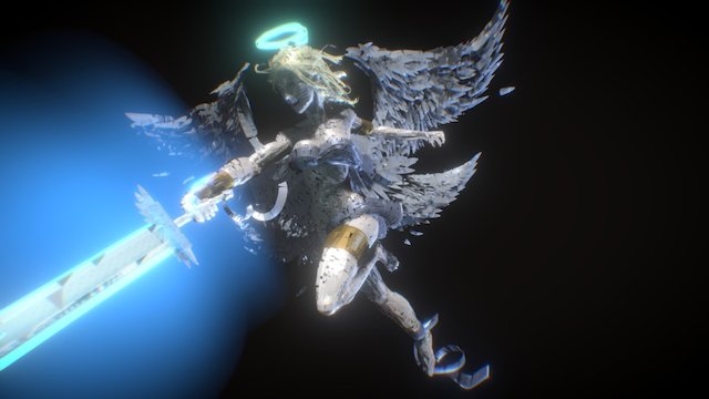 Angel - Tilt Brush 3D Model