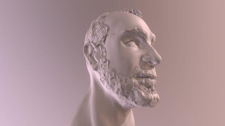 Head sculpture 3D Model