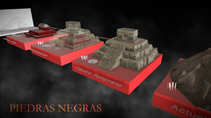 PIEDRAS NEGRAS - ESTR-R3 3D Model