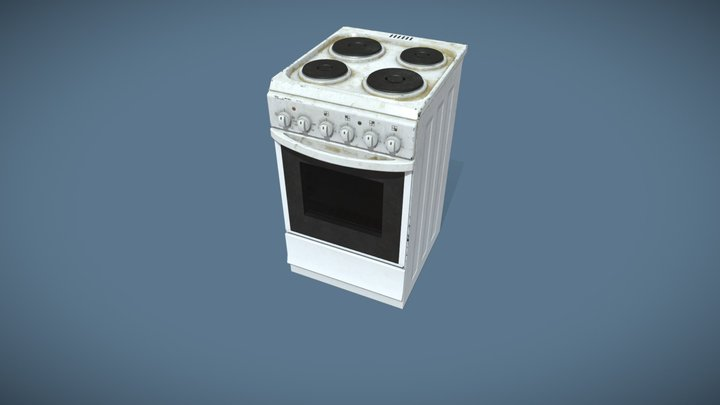 Stove 3D Model