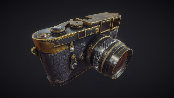 leica_M3 3D Model