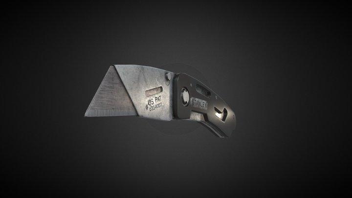 2DAE10_Kuppens_Cedric_stanley_utility_knife 3D Model