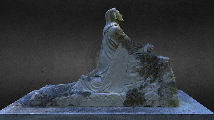 Cemetery Statuary - Hey, Zeus! no. 2 3D Model