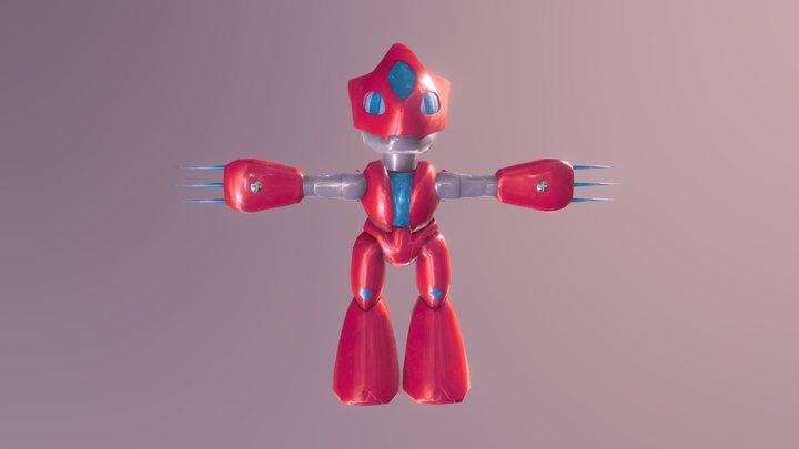 CyberRed 3D Model