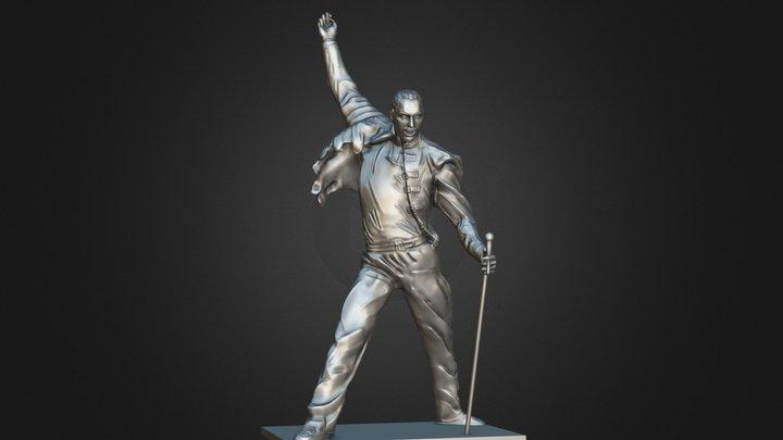 Freddie Mercury 3D Model