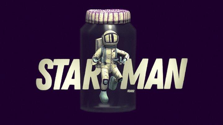 Starman 3D Model