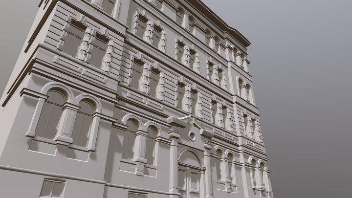 Prague Apartment Test 3D Model
