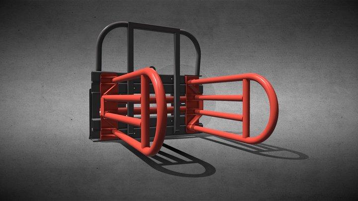 Quaderballenzange Захват для прямоугольных тюков 3D Model