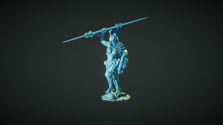 Lords of Hellas -Athena 3D Model