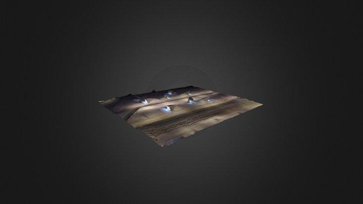 Станция метро Тропарево - вестибюли 3D Model