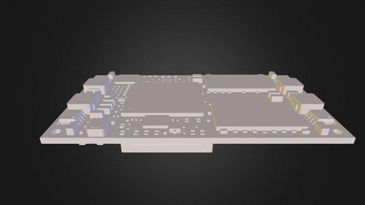3D Model iMX6 Rex Module V1I1 3D Model