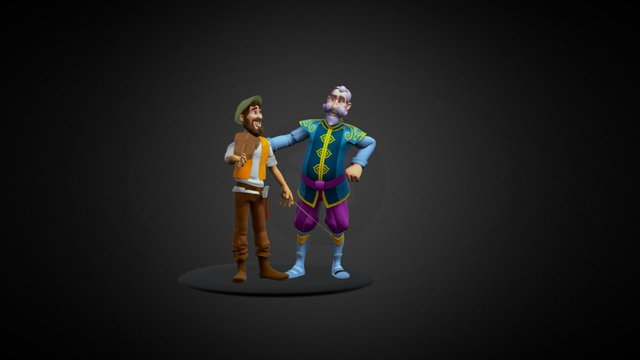Tale of faith Characters 3D Model