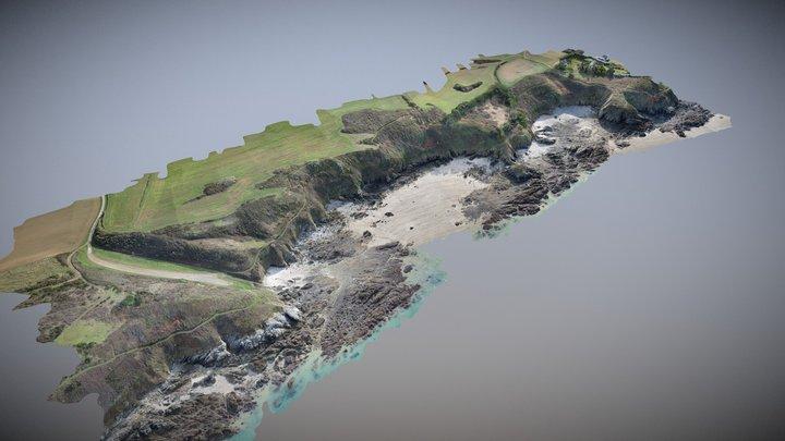 littoral français 3D Model