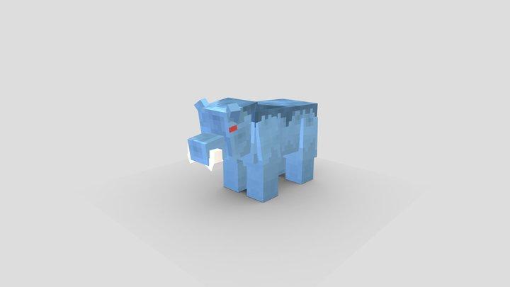 Sao Frenzy Boar 3D Model