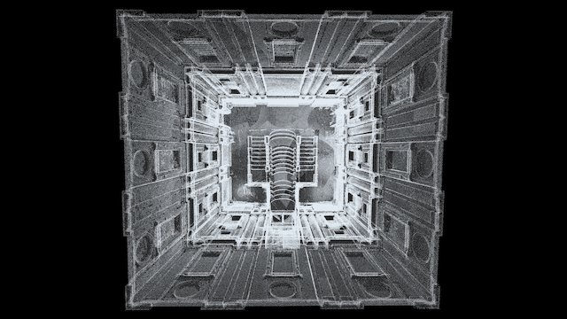 The Laurentian Library, Florence 3D Model