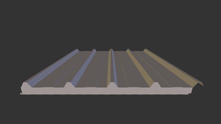Nuh Panel Test 3D Model