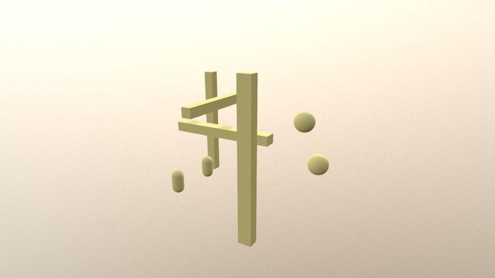Unity Test Honban 3D Model