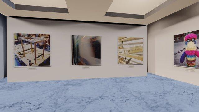 Instamuseum for @atsogram 3D Model