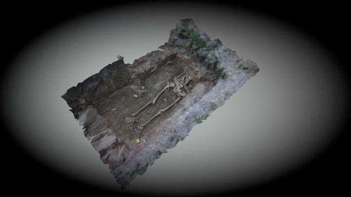 Grave18 Medieval 3D Model