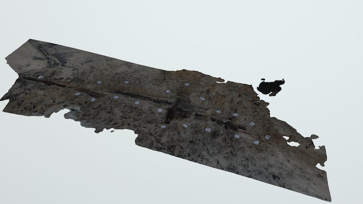 Assateague Island Shipwreck 3D Model