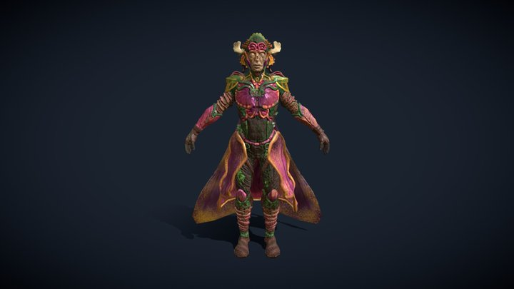 Ekim: Guardian of the Forest 3D Model