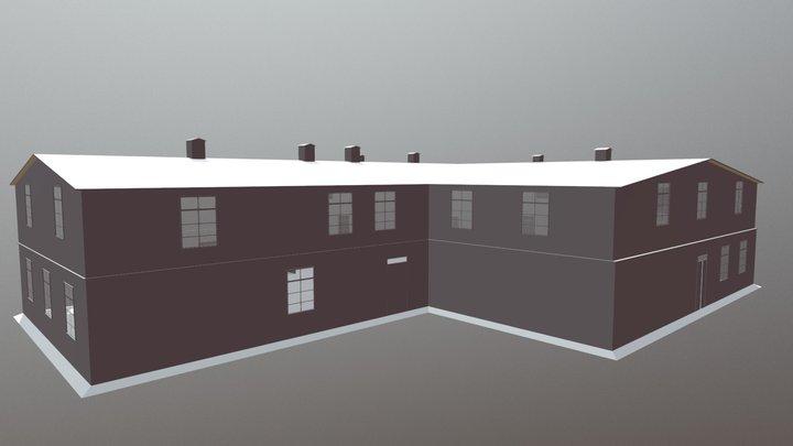 Oboz Budynek 3 3D Model