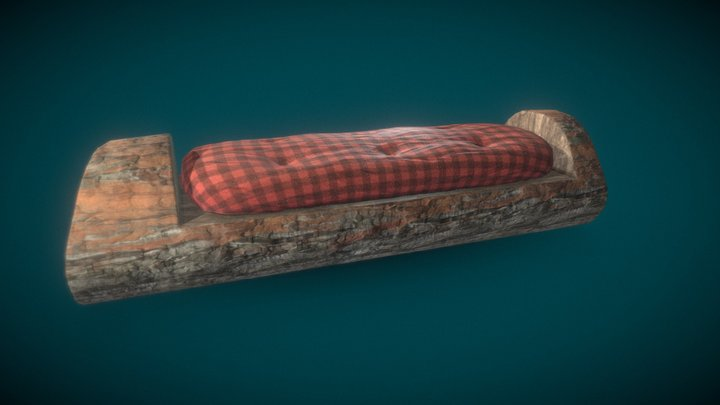 Trunk Couch 3D Model