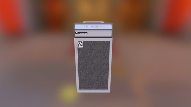 ampeg 3D Model