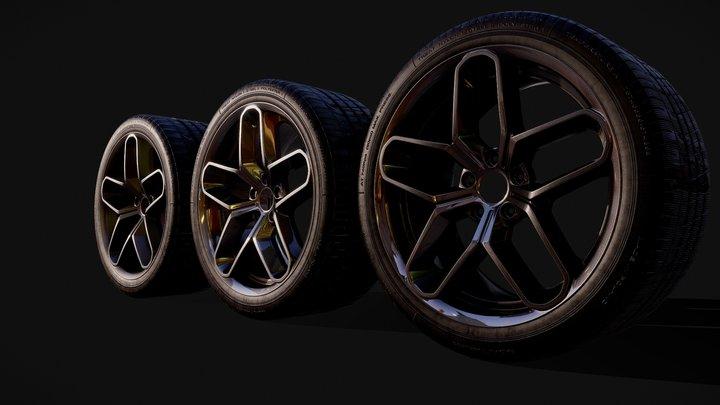 Llantas RX 3D Model