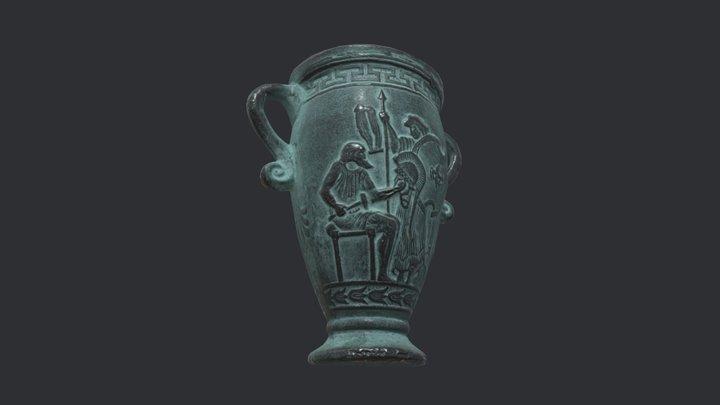 Replica Creek Vase 3D Model