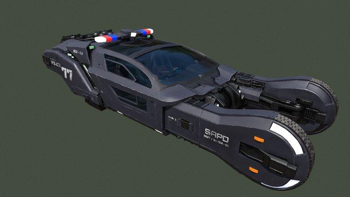 Blade Runner Police Spinner 3D Model