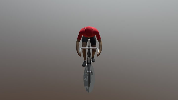 Bicycleman 03 3D Model